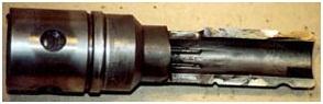 Износ внутренней поверхности ствола